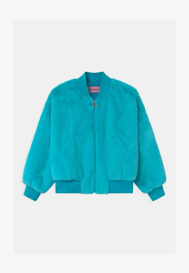 LOGO - Winter jacket - atlantic
