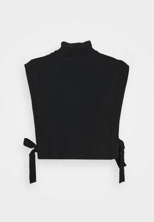 CELOSIA CELENA VEST - Jumper - black