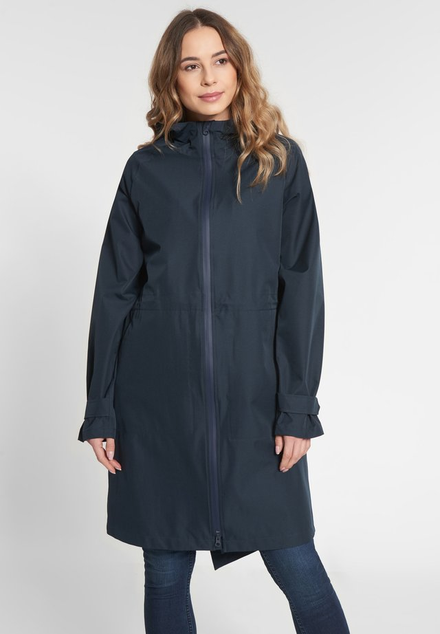 FUTURE TRAVEL 2.0 - Waterproof jacket - navy