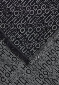 HUGO - Foulard - black - 2