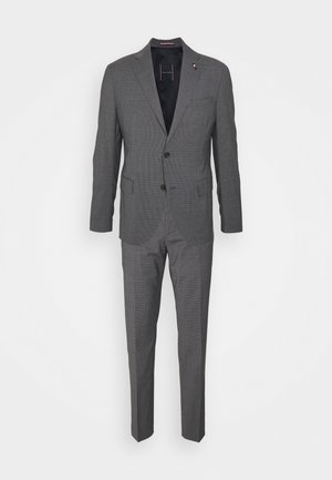 FLAP FULLY LINED VENTS FLAT FRONT TROUSER SET - Suit - grey