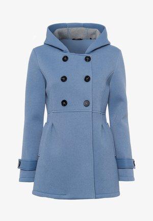 Short coat - dove blue