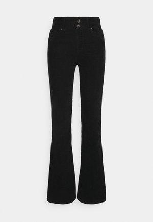 NEWLUZ FLARE - Trousers - black