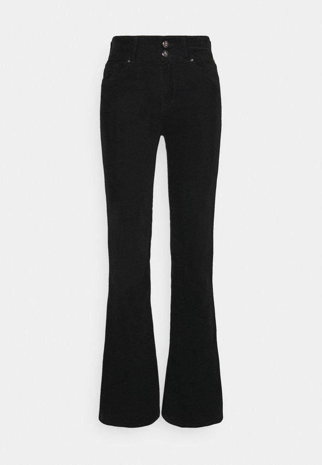 NEWLUZ FLARE - Pantalones - black