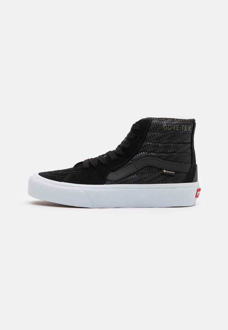 Vans - SK8 GORE-TEX UNISEX - Baskets montantes - black/true white