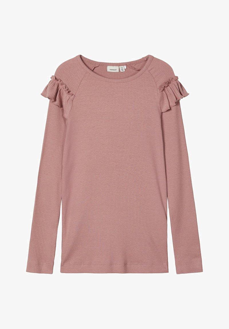 Name it - Langærmede T-shirts - woodrose