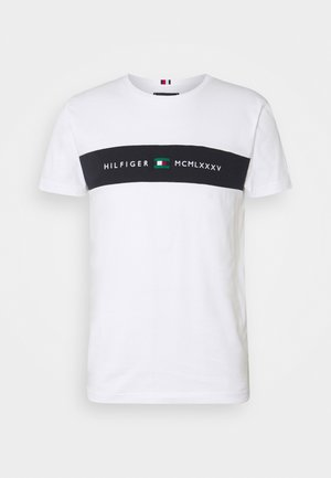 NEW LOGO TEE - T-shirt con stampa - white
