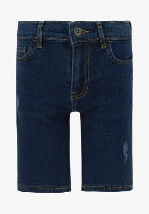 REGULAR FIT - Jeansshort - blue