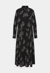Monki - ADA DRESS - Skjortekjole - black - 5