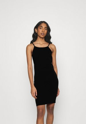 ONLLIVE LOVE SHORT DRESS - Jersey dress - black
