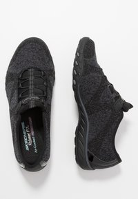 Skechers - BREATHE EASY - Trainers - black/charcoal - 3