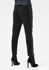 G-Star - FABRIC MIX TAPERED  - Trousers - dk black - 1
