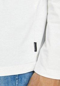 Jack & Jones - BASIC - Long sleeved top - blanc de blanc - 4