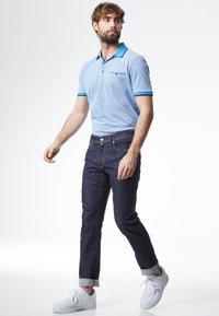 Pierre Cardin - FLEX - Straight leg jeans - dark-blue denim - 1