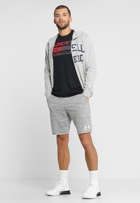 Under Armour - SPORTSTYLE TERRY  - Pantalón corto de deporte - onyx white - 1