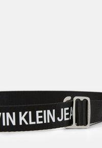 Calvin Klein Jeans - OFFDUTY TAPE - Belt - black - 3