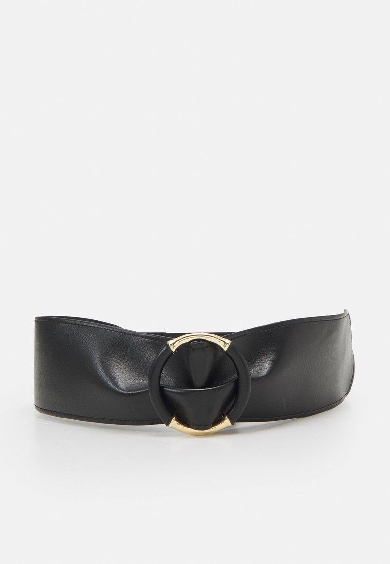 Pieces - PCOLLA WAIST BELT - Waist belt - black/gold-coloured