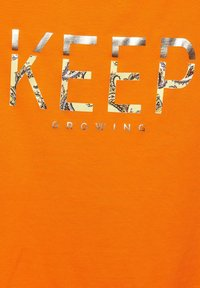 Street One - Print T-shirt - orange - 4