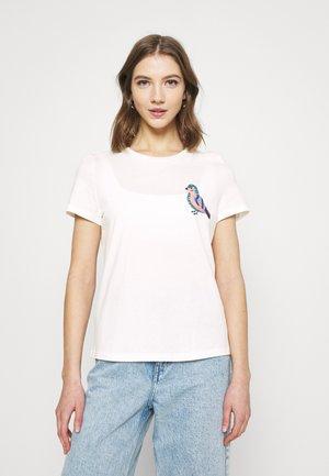 VMMILIZAFRANCIS  - T-shirt print - snow white