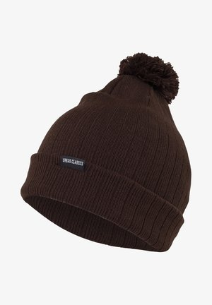 BOBBLE  - Beanie - brown