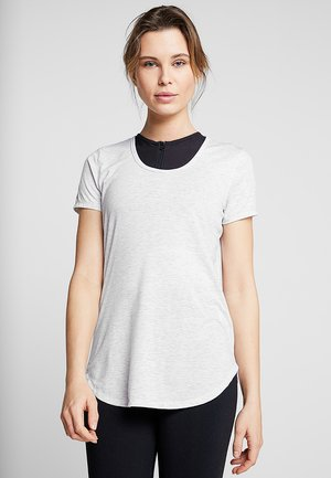 GYM - T-shirts - grey marle