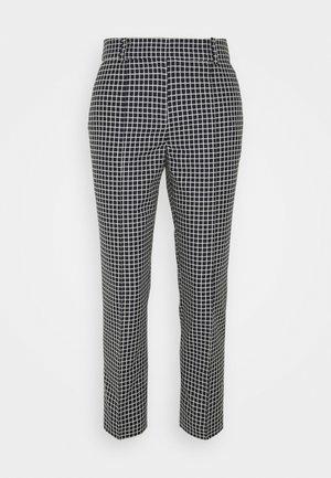 SAILOR CHECK YARNDYE CRISP - Trousers - dark blue