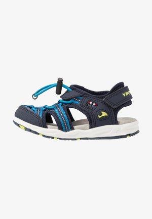 THRILL UNISEX - Walking sandals - navy/demin