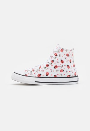 CHUCK TAYLOR ALL STAR  - Korkeavartiset tennarit - white/red/black