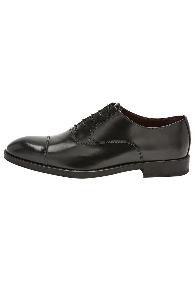 SIGNATURE ITALIAN  - Elegantní šněrovací boty - black