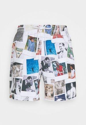 POLAROID  - Swimming shorts - multico/white