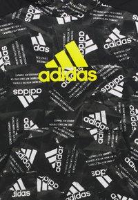adidas Performance - Hoodie - black/yellow - 2