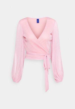 CORINNE - Long sleeved top - pastel pink