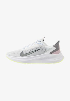 ZOOM WINFLO 7 SE - Neutral running shoes - summit white/metallic dark grey/ghost green/royal pulse/plum chalk/thunder grey