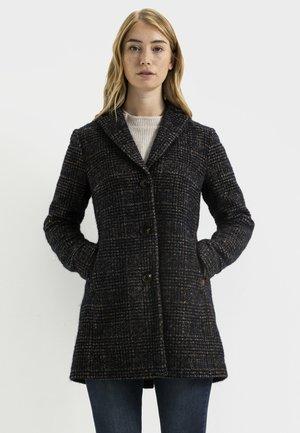 Short coat - check navy
