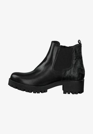 Ankle boots - black/struct.