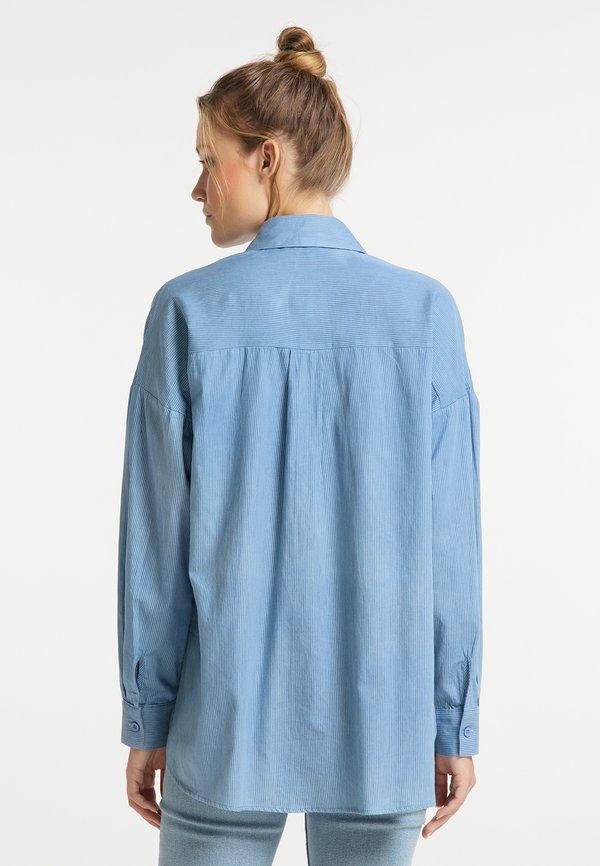 DreiMaster Koszula - hellblau/jasnoniebieski VYVF