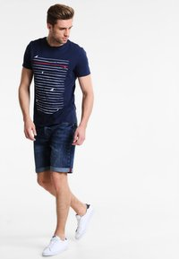 Pier One - T-shirt print - navy - 1