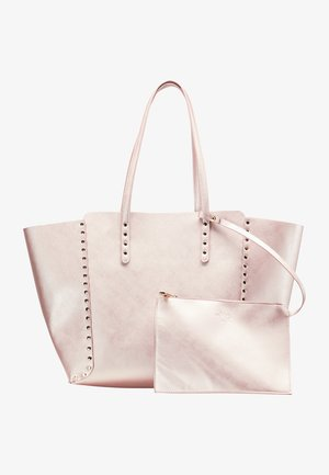 SHOPPER - Handbag - pink metallic