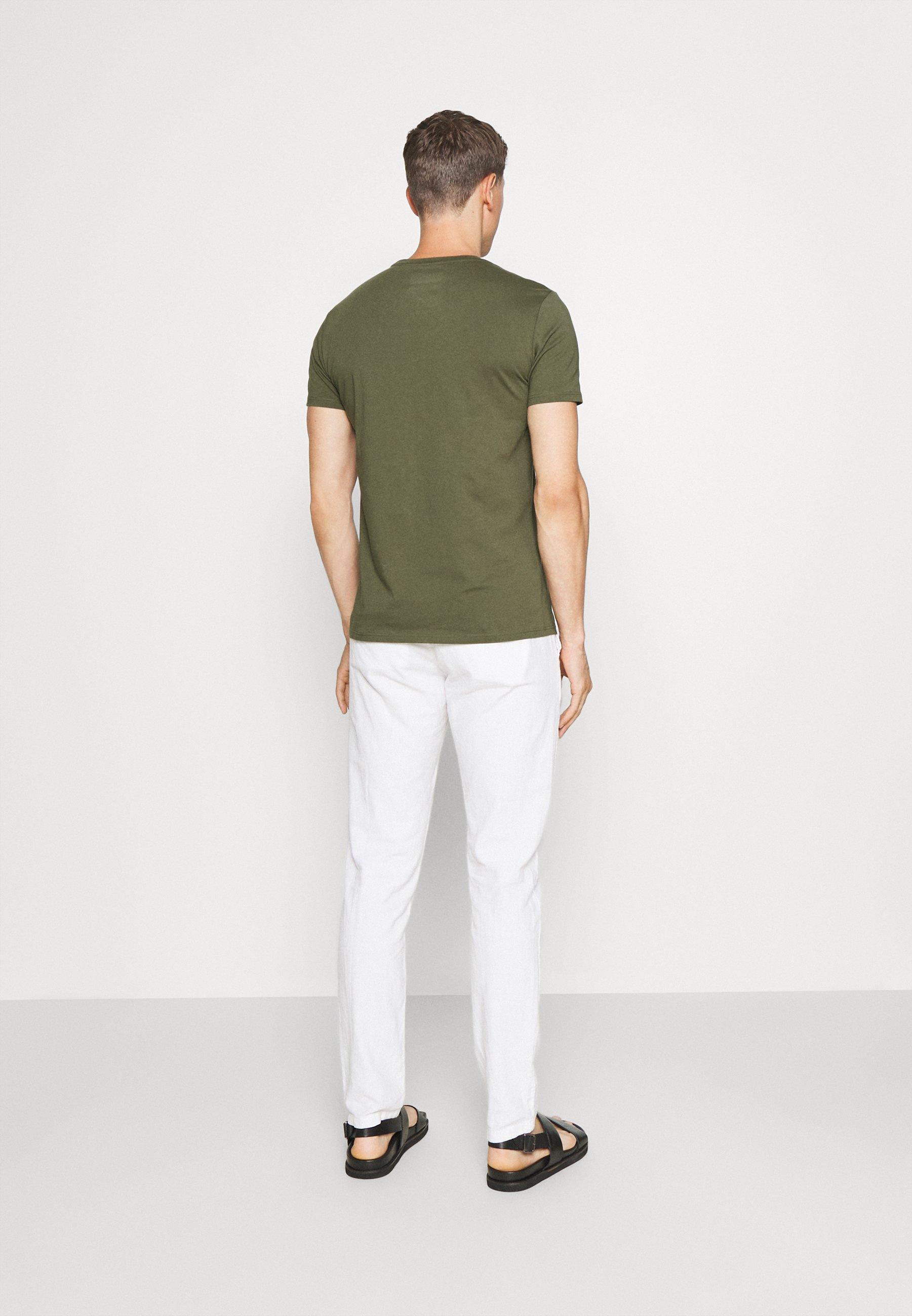 Men SHORT SLEEVE LOGO TEXT LOGO - Print T-shirt