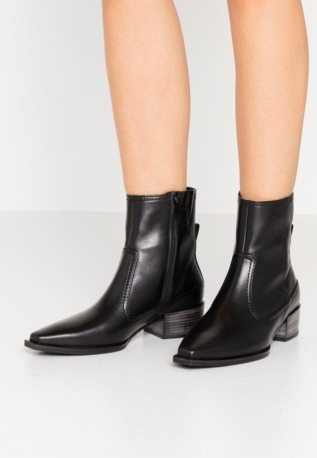 MARY - Korte laarzen - schwarz