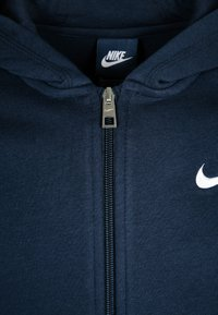 Nike Performance - FULL ZIP - Zip-up hoodie - obsidian/white - 2