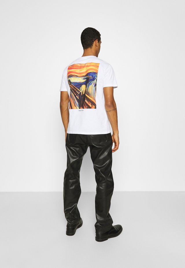 UNISEX - T-shirt med print - white