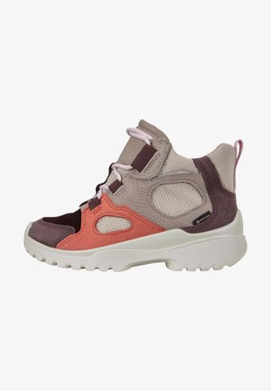 XPERFECTION  - High-top trainers - fig/apricot/grey rose