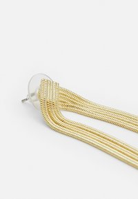 SNÖ of Sweden - KNOT BIG TASSEL - Earrings - gold-coloured - 2