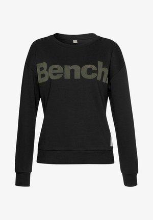 Sweatshirt - schwarz-taupe