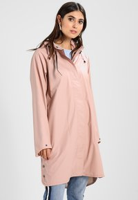 Ilse Jacobsen - TRUE RAINCOAT - Parka - adobe rose - 0
