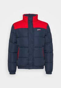Tommy Jeans - CORP JACKET - Vinterjacka - twilight navy