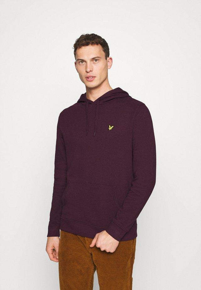 HOODIE - Bluza z kapturem - burgundy