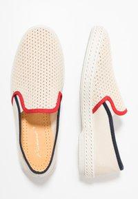 RIVIERAS - ROD - Nazouvací boty - beige - 1