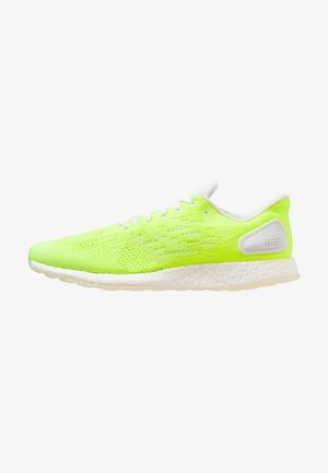 PUREBOOST DPR LTD - Neutral running shoes - footwear white/hi-res-yellow